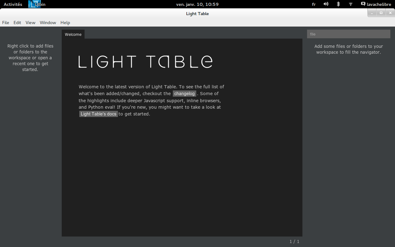 light-table