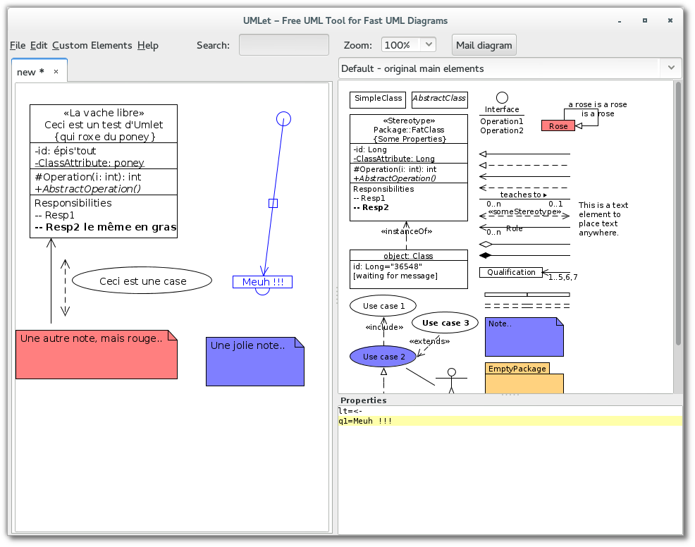 UMLet - Free UML Tool for Fast UML Diagrams
